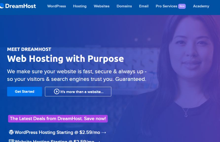 dreamhost hosting coupon